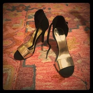 Shoes - Glam ankle-strap heels